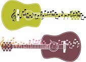 Guitar,Musical Note,Music,Jazz,Musical Staff,Acoustic Guitar,Rock and Roll,Musical Instrument,Popular Music Concert,Classical Concert,Treble Clef,Musical Instrument String,Folk Music,Musical Theater,String Instrument,Modern Rock,Performance,Playing,Music,Arts And Entertainment,Illustrations And Vector Art,Performer