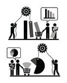 Decisions,Teamwork,Infographic,Gear,Cooperation,Number,People,Arrow,Black Color,Monochrome,Document,Finance,Label,Design Element,Data,Inspiration,Creativity,Icon Set,Part Of,Diagram,White,Silhouette,Connection,Banner,Business,Ideas,Vector,Ilustration,Sign,Steps