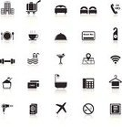 Bellhop,Symbol,Telephone,Coathanger,Swimming Pool,Restaurant,Plate,Washer Machine,Maid,Cardkey,Luggage Cart,Clock,Do Not Disturb Sign,Motel,Duster,Service,Vector,Room Service,Bag,Credit Card,24 Hrs,Domestic Room,Hotel,Passport,Food,Airport,Wireless Technology,Bed