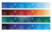 Colors,Abstract,Color Gradient,Winter,Christmas,Snowflake,Banner
