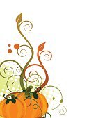 Ilustration,Thanksgiving,Nature,Leaf,Pumpkin,Season,Vegetative Stage,Vector,Floral Pattern,Ornate,Abstract,Autumn,Backgrounds,Multi Colored,Day,Creativity,Plant