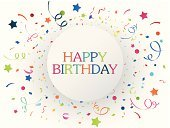Birthday,Confetti,Greeting Card,Birthday Card,Anniversary,Single Word,Postcard,Streamer,Text,Vector,Greeting,Surprise,Fun,Engraved Image,Typing,Ilustration,Bright,Capital Letter,Horizontal,Art,Green Color,Multi Colored,Writing,Congratulating,Capital,Holiday,Celebration,Colors,Ribbon,Decoration,Happiness,Message,Cheerful,Group of Objects