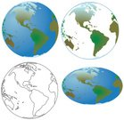 Earth,Planet - Space,Globe - Man Made Object,Outline,Vector,Sphere,Environment,World Map,Global Communications,Global Business,Symbols Of Peace,continents,Black And White,Isolated,Concepts,Circle,Nature,The Americas,White Background,USA,Environmental Conservation,Isolated On White,Travel,Ilustration,Illustrations And Vector Art