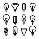 Light Bulb,Outline,Halogen Light,Low,Brainstorming,Collection,Fluorescent Light,Efficiency,Creativity,Electricity,Sparse,Technology,New,Advice,Electric Lamp,Vector,Computer Graphic,Symbol,Doodle