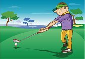 Golf,Cartoon,Humor,Sport,Vector,Course,Golf Course,Golf Swing,Tee,Exercising,Golf Club,Playing,People,Bag,Grass,Activity,Competition,Ball,Relaxation Exercise,Organized Group,Professional Sport,Hobbies,Ilustration,Lifestyles,Hole,Summer,Swinging,Leisure Games,Green Color,Outdoors,Travel Destinations,People,Golf,Healthy Lifestyle,Recreational Pursuit,Vacations,Practicing,Equipment,Athlete,Relaxation,Competitive Sport,Playful,Entertainment,Enjoyment,Illustrations And Vector Art,business expense,Leisure Activity,Energy,Sports And Fitness,Wood - Material