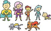 Super - Film Title,Mother,Family,Superhero,Dog,Baby,Undomesticated Cat,Gary Powers,Domestic Cat,Pets,Sister,Father,Brother,Son,Daughter,Genetic Mutation