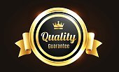 Badge,Gold,Gold Colored,Security,Seal - Stamp,premium,Elegance,Vector,Scale,Quality Guarantee,Premium Quality,Satisfaction