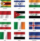 Flag,Iran,Earth,World Map,National Flag,Indonesia,Label,editable,Patriotism,White,continent,Country - Geographic Area,Isolated,Colors,Cape Verde,Iceland,Republic of Ireland,Iraq,Italy,Yemen,National Landmark,Insignia,Ilustration,state,Adulation,Travel,Icon Set,Remote,Topography,Jordan - Middle East,Color Image,Vector,Collection,Zimbabwe,Israel,Computer Icon,Symbol,Sign,International Landmark,India