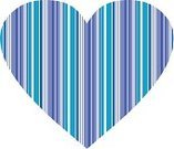 Valentine's Day - Holiday,Striped,Clip Art,Vector,Digitally Generated Image,Ilustration,Heart Shape