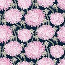 Dandelion,Ilustration,Textile,Computer Graphic,Abstract,Luxury,Elegance,Pink Color,Summer,Nobility,Backgrounds,Organic,Botany,Nature,Multi Colored,Pattern,Vector,Ornate,Aster,Leaf