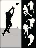 Football,American Football - Sport,Silhouette,High School Student,Vector,University,Running Back,Athlete,Outline,Action,Running,Team Sport,Team Sports,Actions,Sports And Fitness