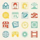 Group of Objects,Isolated,Computer Icon,Symbol,Calendar,SEO,Collection,Computer Graphic,Flat,Connection,Arranging,Video,Design,Touching,Concepts,Set,Data,Camera - Photographic Equipment,user,Stock Market,Greeting Card,Message,Internet,Digitally Generated Image,Sign,Advice,Information Medium,Computer,E-Mail,Design Element,Web Page,Telephone,Single Object,Sparse,Home Video Camera,Clock,Vector,Leisure Games,Ideas,Mobility,Mobile Phone,Note Pad,Market,Photo Album,Distance Marker,Technology,Social Issues,Application Software,Business,Communication,Computer Network,Music