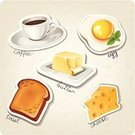 French Culture,Cafe,France,Snack,Drink,Icon Set,Symbol,Computer Icon,Toast,Coffee - Drink,Espresso,Restaurant,Design,Dinner,Food,Retro Revival,Bean,Vector,Butter,Pattern,Cheese,Breakfast,Label,Tag,Art,Cup,Eggs,Animal Egg,Menu