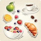Croissant,French Culture,France,Cafe,Macaroon,Cup,Label,Art,Cake,Tag,Bean,Grunge,Breakfast,Restaurant,Espresso,Menu,Design,Dinner,Snack,Pattern,Candy,Currant,Raspberry,Strawberry,Vector,Granola,Symbol,Icon Set,Drink,Retro Revival,Coffee - Drink,Food
