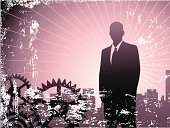 Men,Silhouette,City Life,Urban Scene,CEO,Gear,Business Person,Leadership,Strength,Backgrounds,Efficiency,City,Muscular Build,Dirty,Businessman,Pink Color,Suit,Working,The Way Forward,Machinery,Determination,Success,Wealth,Occupation,Tie,Sharp,Metropolitan Museum Of Art,Business,Business People