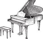 Piano,Art,Drawing - Activity,Ilustration,Pencil Drawing,Drawing - Art Product,Stool,Computer Graphic,Elegance,Classical Theater,Classic,Orchestra,Musical Instrument,Acoustic Instrument,Popular Music Concert,Music,Creativity,Classical Style,Indoors,Silhouette,Sketch,Empty,Equipment,Performance,Chord,Classical Music,No People,Chair,Outline,Ink,Sound,Work Tool,Jazz,Inks On Paper,Romance,Luxury,Classical Concert,Open,Simplicity,symphonic,freehand,Playing,octave,Inside Of,Contour Drawing,Theatrical Performance,Play,Majestic,Vector,Symbol,Pencil
