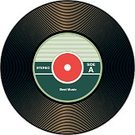 1960s Style,Dirty,Record,Entertainment,Sound Recording Equipment,Ilustration,Small,Disk,Empty,Isolated,Computer Graphic,Sound,Single Object,Classic,Black Color,Technology,1970s Style,Circle,Information Medium,Equipment,Grooved,Vector,Hole,Music,Shadow,Flat,White,Curve,Old-fashioned,Blank,Old,Plastic,Design Element,45 RPM,No People,RPM,isolated objects,Retro Revival,Label,Gramophone,unlabeled