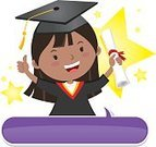 Graduation,Preschool,Teenage Girls,Celebration,Little Girls,Child,Expertise,Hat,Holding,Thumb,Happiness,Teenager,Joy,Gesturing,Speech,Success,Award,Cap,Ceremony,School Building,Backgrounds,Perfection,Thumbs Up,Education,Exam,Cheering,Learning,Test Results,Intelligence,Star Shape,Student,Elementary Age,Small,Wisdom,Smiling,Cheerful,Certificate,Preschooler,Childhood,Concepts,Event,Congratulating,Schoolgirl
