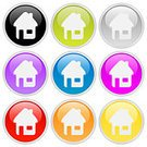 House,Home Interior,Residential Structure,Circle,Symbol,Computer Icon,Interface Icons,Curve,Web Page,Icon Set,Religious Icon,Push Button,Color Image,Light - Natural Phenomenon,Gray,Sign,Internet,Frame,Shiny,Collection,Set,Illustrations And Vector Art,Lightweight,Reflection,Metallic,Vector,Ilustration