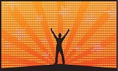 Achievement,Success,Winning,Conquering Adversity,Excitement,People,One Person,Energy,Backgrounds,Releasing,Men,Celebration,First Place,Relief,Positive Emotion,Happiness,Vector,Human Hand,Freedom,Cheerful,Joy,Shouting,Screaming,On Top Of The World,Emotion,Orange Color,Glowing,Sky,Luxury,Heat - Temperature,Enjoyment,Fun,Concepts And Ideas,Backdrop,Success