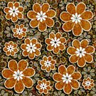 Horizontal,Pattern,Backgrounds,Color Image,Ornate,Abstract,Illustration,Floral Pattern,No People,Clip Art