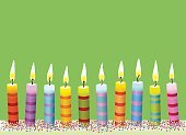 Birthday Candles,Birthday,Candle,Number 10,Cake,10-11 Years,Birthday Cake,In A Row,Valentine's Day - Holiday,Zen-like,Meditating,Mothers Day,Congratulating,Healthy Lifestyle,Backgrounds,Invitation,Christmas,Gift,Burning,Anniversary,Happiness,Children Party,Cheerful,Greeting Card,Fire - Natural Phenomenon,Colors,Red,Coupon,Horizontal,Striped,Celebration,Color Image,Holiday,Sprinkles,Group of Objects,Bright,Traveling Carnival,Wellbeing,Decoration,Confetti,Relaxation,Vibrant Color,Brightly Lit,Blue,Day,Ornate,Large Group of Objects,Green Color,Carnival,Multi Colored,Flame,School Carnival,Bead,Kids Birthday