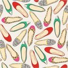 Wallpaper,Wallpaper Pattern,Shoe,Vector,Textile Industry,Flat,Ballet Dancer,Ilustration,Design,Decoration,Clothing,Women,Textile,Foot,Female,Part Of,Paper,Leopard,Variation,Computer Graphic,Youth Culture,Group of Objects,Shopping,Style,Zebra,Elegance,Outline,Backgrounds,Fashion,Pattern,Repetition,Seamless,Teenage Girls,Wrapping Paper,Human Foot,Personal Accessory,Backdrop,Funky,Modern,Single Object,Fashionable,Print,Springtime,Sketch,Summer,Glamour