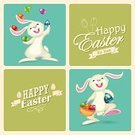 Easter Bunny,Basket,Vector,Celebration,Catholicism,Christianity,easter rabbit,Decoration,Multi Colored,Ilustration,Walking,Backgrounds,Cultures,Gift,Easter,Mascot,Easter Card,Animal,April,Season,Catching,Pets,Juggling,Single Object,Mammal,Computer Graphic,Fun,Greeting,Hare,lovable,editable