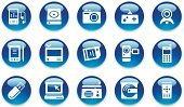 Religious Icon,Mobile Phone,Symbol,Computer Icon,Video Conference Camera,Equipment,Shiny,Icon Set,Computer,Television Set,Laptop,Blue,Video Game,Electrical Equipment,Business,Internet,Push Button,Entertainment,Leisure Games,Interface Icons,Camera - Photographic Equipment,Electronics Industry,Home Video Camera,Set,Handheld Video Game,Communication,Movie,Remote Control,MP3 Player,Multimedia,Vector,Turquoise,Television Camera,Modern,Disk,Global Communications,Crystal,Web Page,www,Crystal,web icon,Personal Data Assistant,Electronic Organizer,White Background,Memory Card,usb drive,Illustrations And Vector Art,whilte,Objects/Equipment,thumb drive