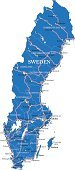 Gothenburg,Cartography,Map,Sweden,Nordic Countries,lulea,Ilustration,Silhouette,Vector,continent,Road,Outline,North,City,Travel,Malmo,Journey,Country - Geographic Area,Backgrounds,International Border,Stockholm,Ostersund,Gotland,Helsinborg,Europe