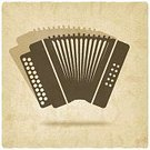 Accordion,Cultures,Brown,Ilustration,Equipment,Vector,Backgrounds
