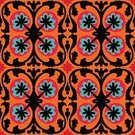 Leaf,Circle,Rustic,Textile,Geometric Shape,Carpet - Decor,Marrakech,Symbol,Computer Graphic,Backgrounds,Pattern,Vector,Abstract,Suzani,Multi Colored,ikat