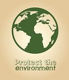 Nature,Environment,Ideas,Digitally Generated Image,Earth,continent,Design,Part Of,Green Color,Organic,Ilustration,Label,Biology,Concepts,Protection,Vector
