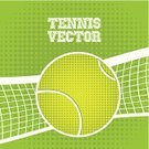 Tennis,Design,Vector,Net - Sports Equipment,Racket,Leisure Games,Green Color,Ball,Symbol,Leisure Activity,Hobbies,Sphere,Sport,Competition,Dribbling,Single Object,Recreational Pursuit,Competitive Sport,Activity,Personal Accessory,Equipment,Practicing,Ilustration,Play