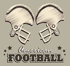 Sport,Football,Ilustration,Playing,Star Shape,Care,Striped,Protection,USA,Equipment,Athlete,Gray,Work Helmet,Competition,Recreational Pursuit,Decoration,Goal,Championship,Winning,Exercising,Sports League,Vector