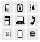 Mobile Phone,Marketing,Connection,Occupation,Ilustration,Data,Connect,Internet,Techno,Diagram,Global,Communication,Technology,Equipment,Cyberspace,Smart Phone,Laptop,Social Issues,Coding,Vector
