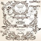 Flourish,Page,Victorian Style,Retro Revival,Decoration,Antique,Old-fashioned,Celebration,Part Of,Elegance,Document,Greeting,Divider,Formalwear,Flower,filigree,Vector,Curve,Ilustration,Collection,Label,swirly,typographic,Scroll Shape,Invitation,Splashing,Panel,Greeting Card,Certificate,Classic,Calligraphy,Frame,Frame,foliate,Book,Classical Style,Ornate,Leaf,Curled Up,Nostalgia,Ruler,Style,Typescript,Swirl,Set