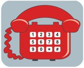 Telephone,Number,Computer Graphic,Keypad,Telecommunications Equipment,Communication,Technology,Push Button,Red,Illustrations And Vector Art,Clip Art,household objects,Man Made Object