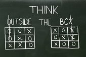 Niche,Discovery,Recruitment,Outdoors,Manager,Strategy,Goal,CAT Scan,Chalk Drawing,Drawing - Art Product,Tic-Tac-Toe,Think Outside The Box,Finance,Ideas,Human Toe,Pencil Drawing,Blackboard,Sketch,tic,Thinking,New Business,Box - Container,Backgrounds,Concepts