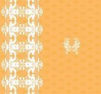 Decoration,Orange Color,Floral Pattern,Backgrounds,Flower,Art,Ilustration,White,Pattern,Swirl,East,filigree,Striped,Scroll Shape,Ornate,In A Row,Vector,Symbol,Design Element,Lace - Textile,Symmetry,Sepia Toned,Deco,Shape,Abstract,Elegance,Style,Image,Curve