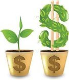 Symbol,Sapling,Computer Icon,Making Money,Nature,Flower Pot,Isolated,Gold Colored,Leaf,Concepts,Corporate Business,Savings,Ideas,Dollar,Bank,Banking,Beauty In Nature,American Culture,Finance,Single Object,Currency Symbol,dividends,Bud,Macro,Sign,Yield Sign,monetary,Vector,Colors,Business,Wealth,Color Image,Gold,Investment,Dollar Sign,Close-up,Design,Ilustration,Design Element,Growth,Shiny,Currency