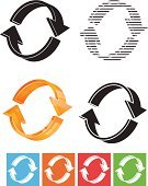 Flowing,Arrow Symbol,Three-dimensional Shape,Curve,Vector,Next,Computer Icon,Direction,Abstract