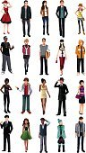People,Formalwear,Casual Clothing,Individuality,Business,Drawing - Art Product,Multi-Ethnic Group,Occupation,Professional Occupation,Standing,Modern,Ethnicity,Beauty,Adult,Young Adult,Cut Out,Illustration,Cartoon,Males,Men,Females,Women,Portrait,Businessman,Vector,Funky,Fashion,White Background,Beautiful People,Arts Culture and Entertainment,102393,Clip Art,Design Element,Icon Set,Avatar,Fashionable,268399,104872,Business Finance and Industry