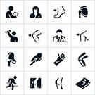Symbol,Computer Icon,Physical Therapy,Human Knee,Icon Set,Orthopedics,Orthopedic Equipment,Orthopedic Surgeon,X-ray Image,Human Bone,Doctor,Shoulder,Healthcare And Medicine,Surgery,Hip,X-ray,Physical Injury,Hip Replacement,Hip Bone,Comparison,Recovery,Medical Occupation,Human Skeleton,Vector,Human Spine,Human Muscle,Medical Exam,orthopedist,Knee Replacement,Single Color,Shoulder Joint,Female,Black Color,Male,Ankle,Musculoskeletal System,Medicine,Nurse,Medical Industry,Cast