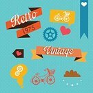 Bicycle,Love,Heart Shape,Design Element,Page,Multi Colored,Remote,Star Shape,Symbol,Ilustration,Decoration,Colors,Lifestyles,Shape,Paper,Ribbon,Color Image,Single Object,Fashion,Cloud - Sky,1960s Style,Material,Backgrounds,Machine Part,Old,Label,Silhouette,Vector,Old-fashioned,1940-1980 Retro-Styled Imagery,Design