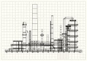 Construction Industry,Built Structure,Blueprint,Graph Paper,Oil Refinery,Factory,Refinery,Petrochemical Plant,Grid,Gas Refinery,Oil Industry,Plan,Oil,Petroleum,Industrial Building,Sketch,Paper,In A Row,Striped,Document,Millimeter,Planning,Industry,Model,Construction Frame,Gasoline,Ruler,Black And White,Pencil Drawing,Drawing - Art Product,Technology,Backgrounds,Horizontal,Design,Drafting,Vector,Futuristic,Graph,Engineering,Ilustration,Tube,Gas,Station,White,Chemical Plant,Centimeter,template,Natural Gas,Complexity,Science