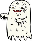 Cheerful,Doodle,Bizarre,Clip Art,Drawing - Activity,Ilustration,ghoul,Halloween,Cute,Slimy