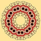 Red,Geometric Shape,Abstract,Yellow,Ornate,Summer,Nature,Brown,Computer Graphic,Symbol,Backgrounds,Indigenous Culture,Pattern,Cultures,Decoration,Ilustration,Circle,Spirituality