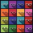 Eyeglasses,Glass,Silhouette,Individuality,Summer,Human Eye,Glamour,Image,Elegance,Sunglasses,Fashion,Eyesight,Protection,fashioned,imagery,Ilustration,Isolated,Remote,Modern,Healthy Lifestyle,Personal Accessory,Clothing,Lens - Optical Instrument,Old,Single Object,Retro Revival,Plastic,Color Image,Colors,Pattern,Black Color,Beauty,Art,Pilot,Design,1940-1980 Retro-Styled Imagery,Sunlight,Obsolete,Paintings,Style,Reflection,Shade,Symbol