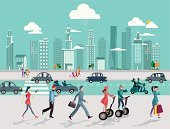 People,Town,Urban Scene,Walking,Car,Computer Network,Global Communications,Street,Social Networking,Cityscape,Lifestyles,Cloud Computing,Architecture,Sky,Internet,Wireless Technology,Building Exterior,Urban Skyline,Cooperation,Movile Phone,Digital Tablet,Panoramic,Cloud - Sky,Vector,Residential Structure,Tower,Smart Phone,Skyscraper,People Traveling,Downtown District,Technology,Office Building,Bring Your Own Device